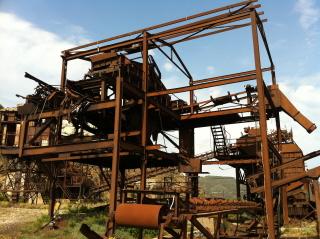 Attrezzature in miniera