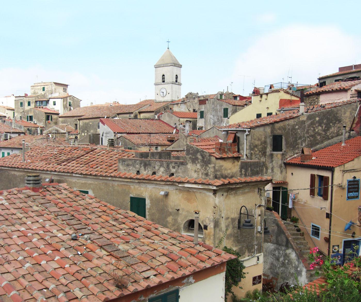 Il comune di capoliveri, all'isola d'Elba