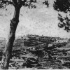 Capoliveri, all'isola d'Elba, in una foto storica