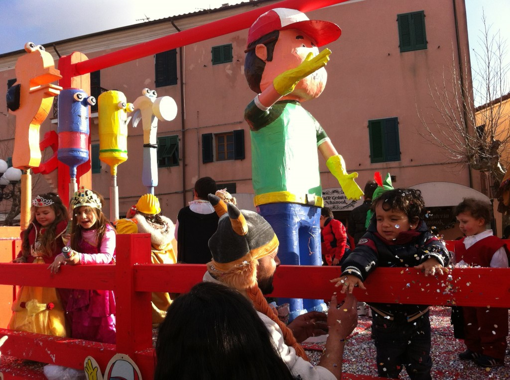 Carnevale a Capoliveri, isola d'Elba