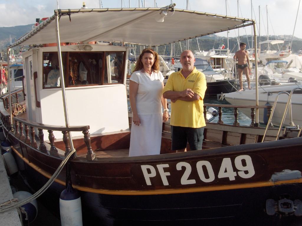 Elisabetta e suo marito Claudio