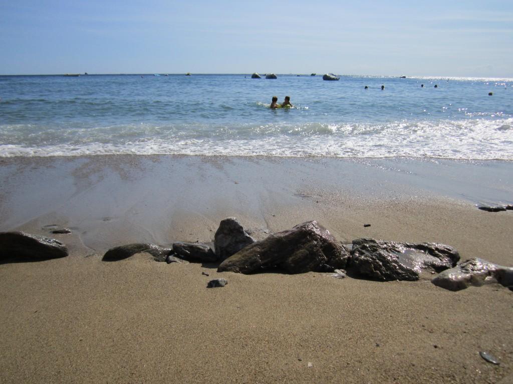 Sabbia e sassi a Morcone ( foto di F.Mazzei)