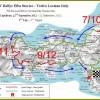 Tappa conclusiva del 22 Settembre ( via www.rallyelbastorico.net)
