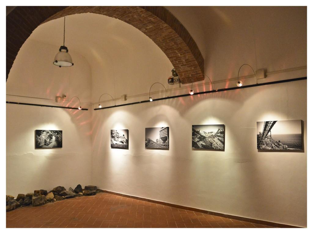 Interno mostra Binacoferro (foto di C.Colnago)