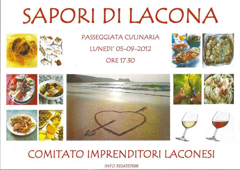 """L'iniziativa """"Sapori di Lacona"""" del 5 settembre 2012"""