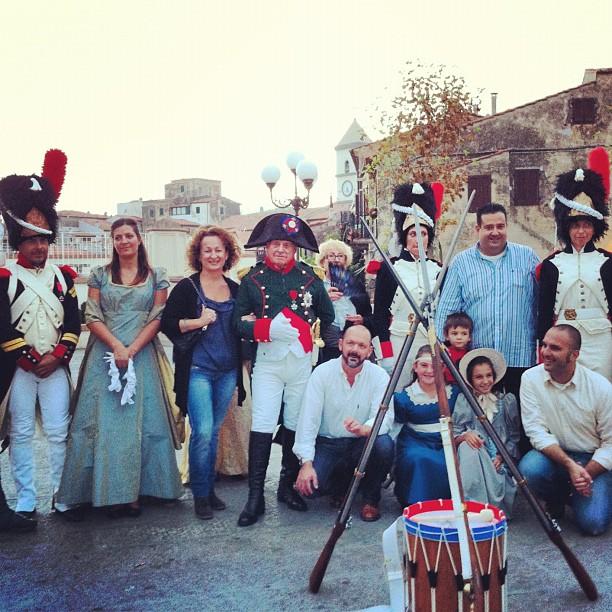 La festa per il rientro a Capoliveri (Foto di C.Lanzoni)