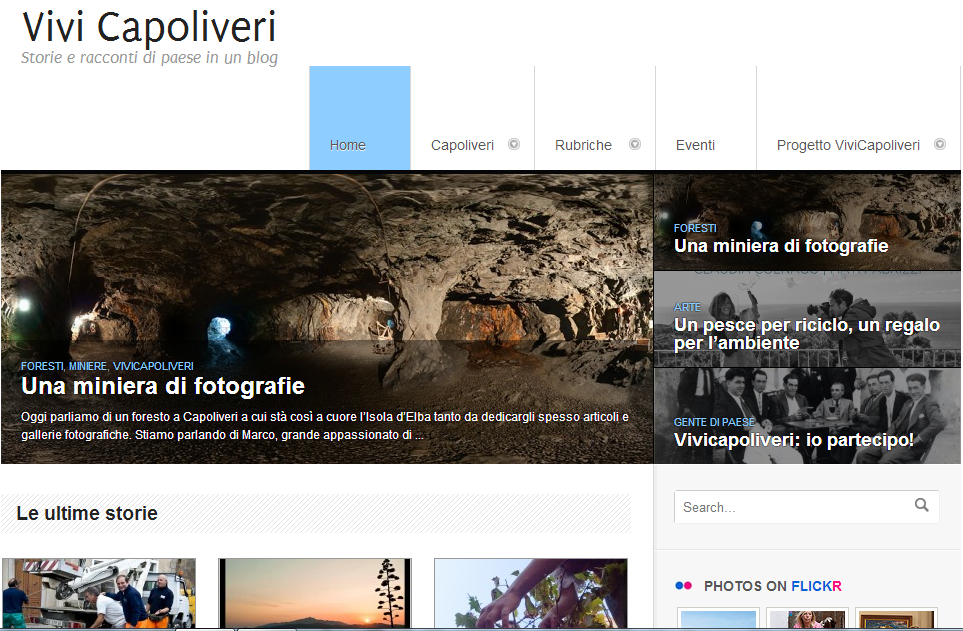 Home page di VivCapoliveri
