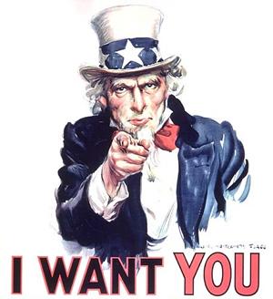 I want you ( Vogliamo proprio te)