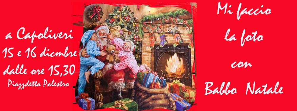 Locandina mi faccio la foto con Babbo Natale