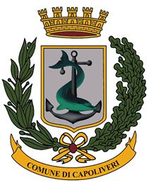 Lo stemma del Comune di Capoliveri (Foto Comune di Capoliveri)