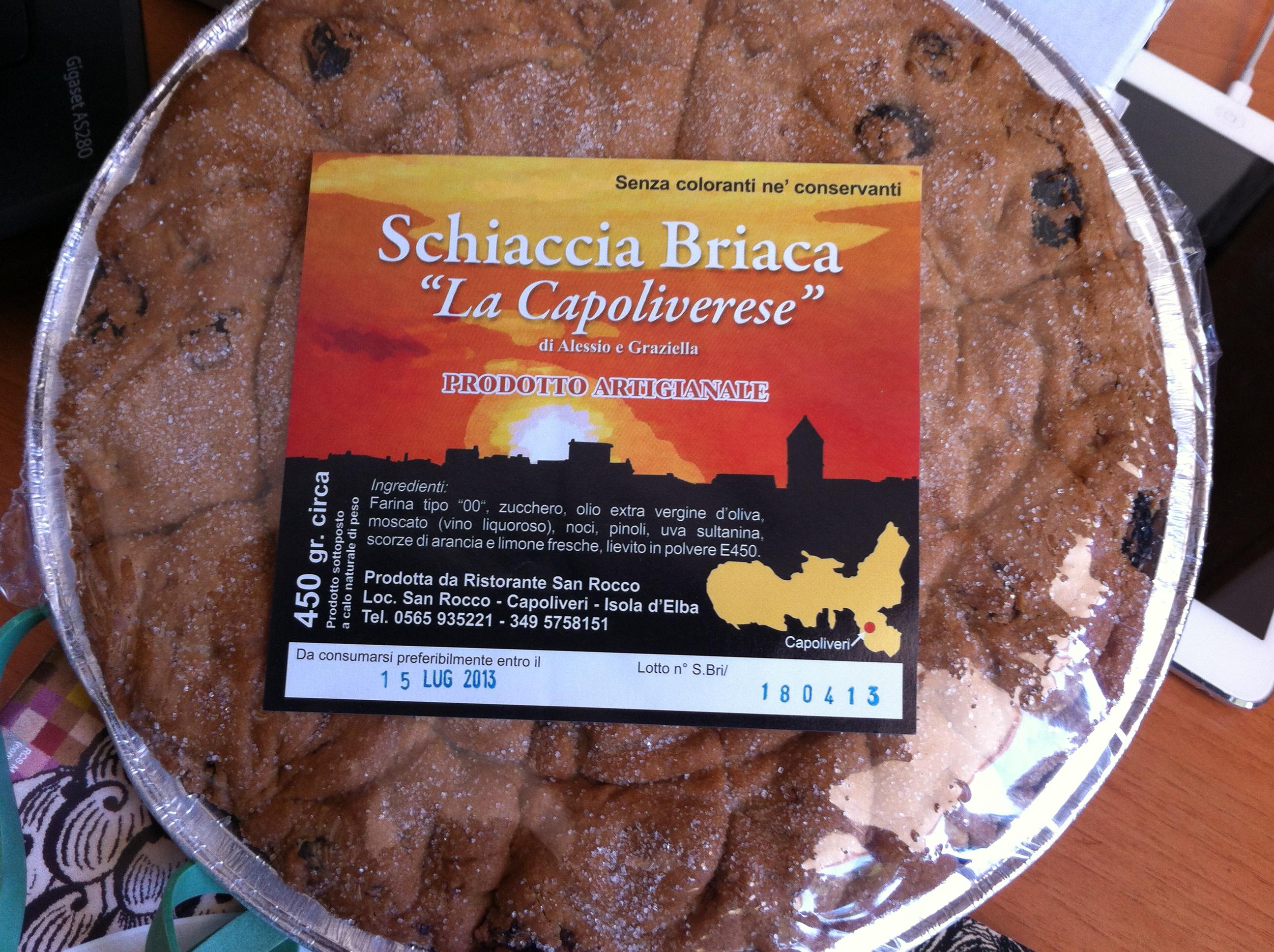 """Schiaccia Briaca """"La Capoliverese"""" (Foto di C.Lanzoni)"""