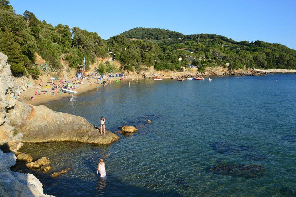 La spiaggia de le Calanchiole (Foto C.Signorini)