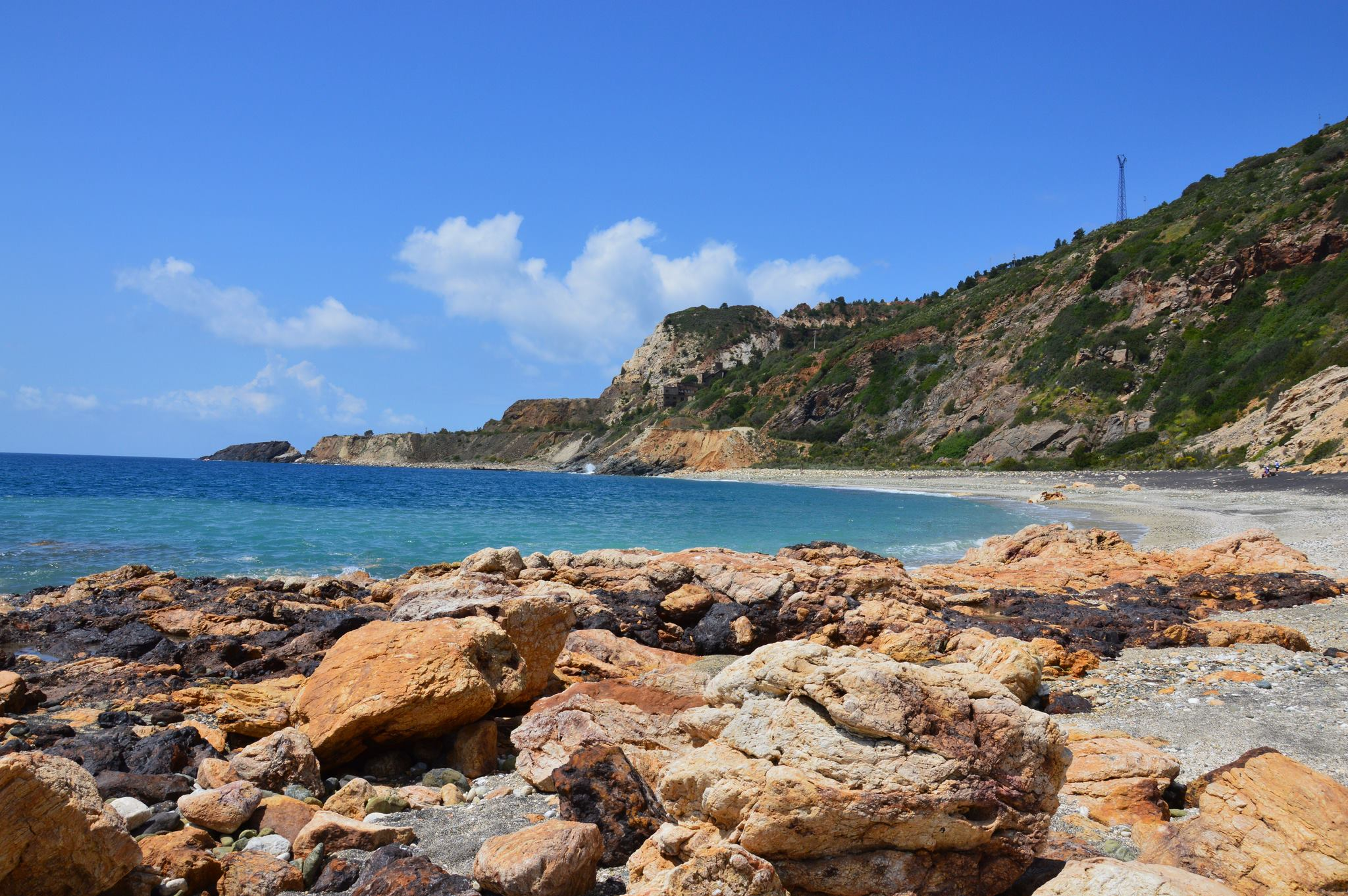 Particolare spiaggia (Foto Claudia Signorini)