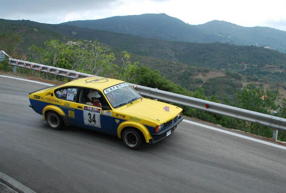 Un momento della gara Rally Elba Storico XXIV (Foto F.Dellea)