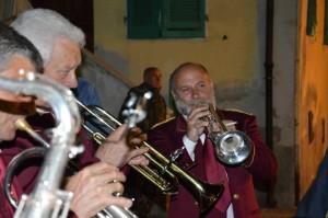 La Banda G.Verdi durante la Festa dell'Uva (Foto Claudia Signorini)