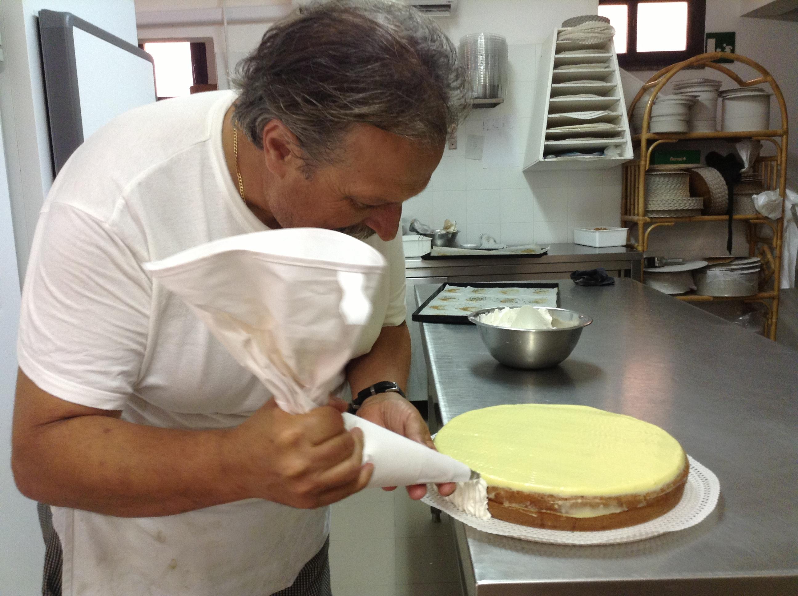Preparazione (Foto Claudia Lanzoni)