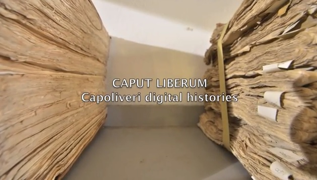 Introduzione (Sreenshot da Caput Liberum Digital Histories)