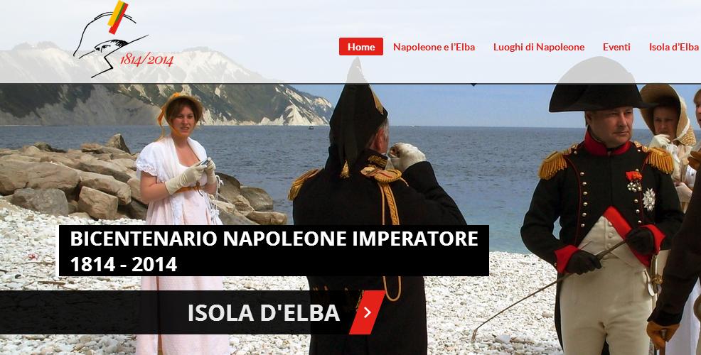 Il portale dei festeggiamenti napoleonici
