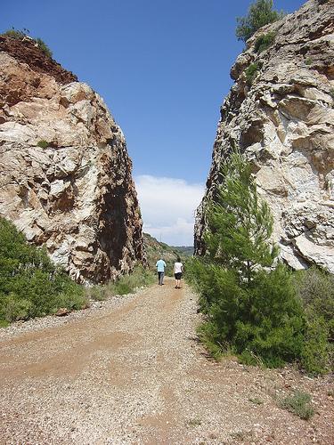 Il canyon (Foto Vivicapoliveri)